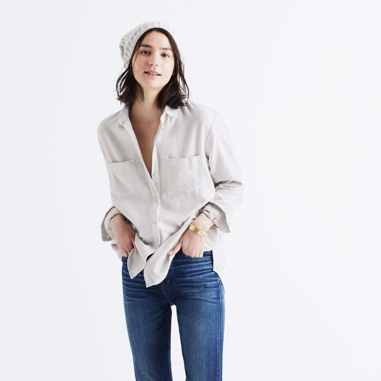 9c777601f5b32 Flannel Oversized Ex-Boyfriend Shirt   shirts   tops