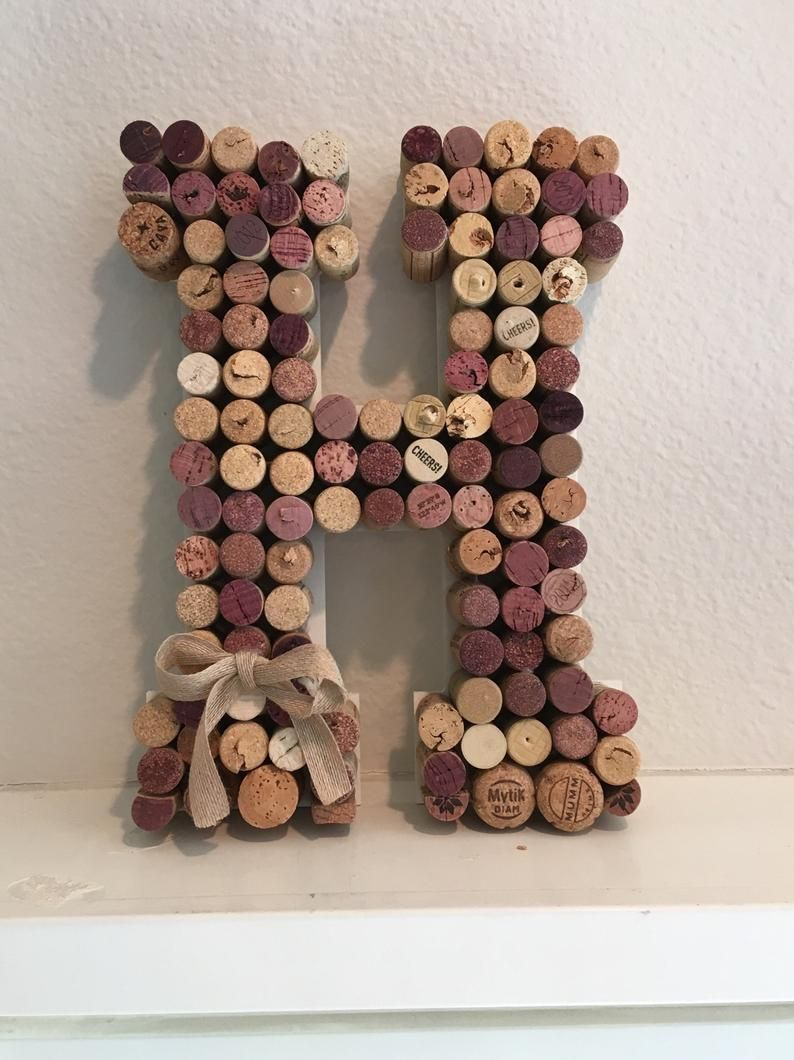 Wine Cork Letter H Corkboard Letters A B C D E F G H J K L M N O P Q R S T U V W X Y Z Eco