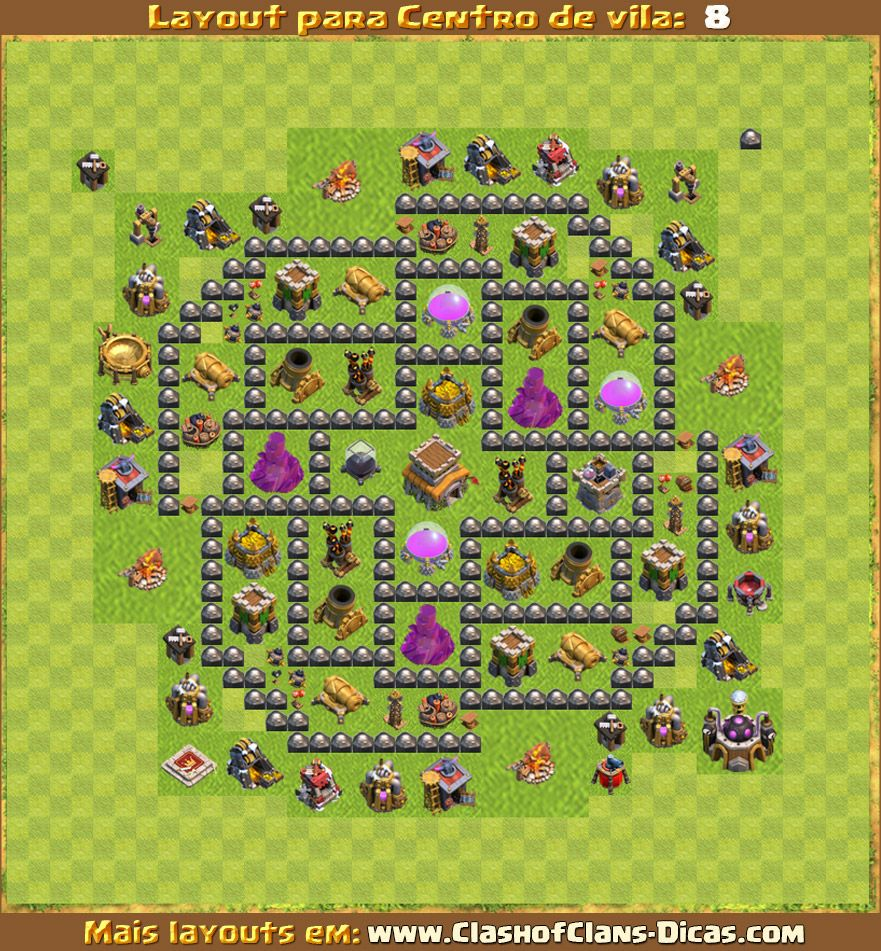 layout cv8 para clash of clans clash of clans pinterest layouts