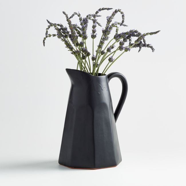 Stevey Black Pitcher Reviews Crate And Barrel Black Pitcher Crate And Barrel Crates