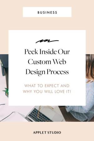 Creating A Website For Your Biz Avoid This Mistake In 2020 Custom Web Design Design Process Web Design