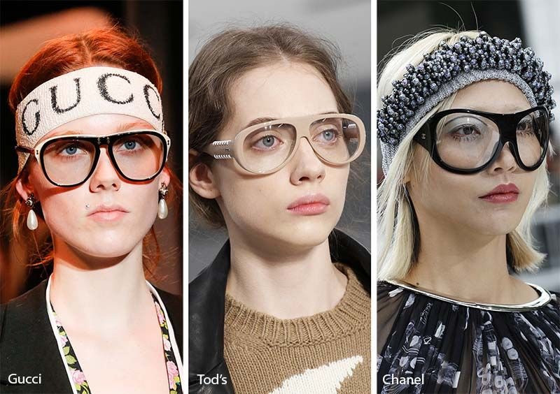 930e0817ae56 Fall  Winter 2017-2018 Sunglasses Trends  Sunglasses with Clear Lenses