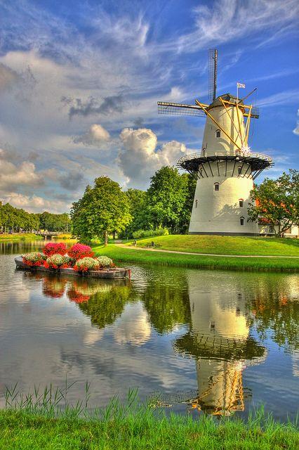 middelburg holland windmill de hoop the salamander on vliet canal in leidschendam south netherlands map