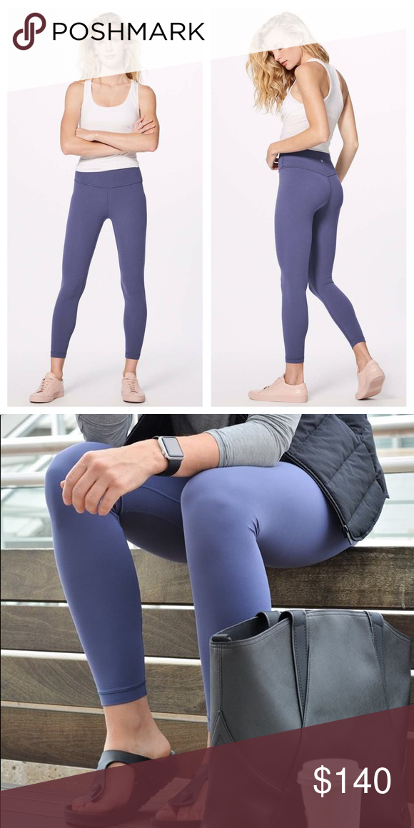 36a2bb4883 Lululemon Align Pant Moody Blues This color is beyond gorgeous! A mix of  grey and navy. Very similar to the popular Greyvy. Brand new with tags.