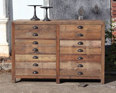Map Drawer Cabinet Map Drawers Reclaimed Wood Dresser Reclaimed Wood