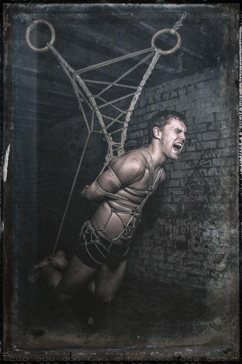 Extreme suspension bondage