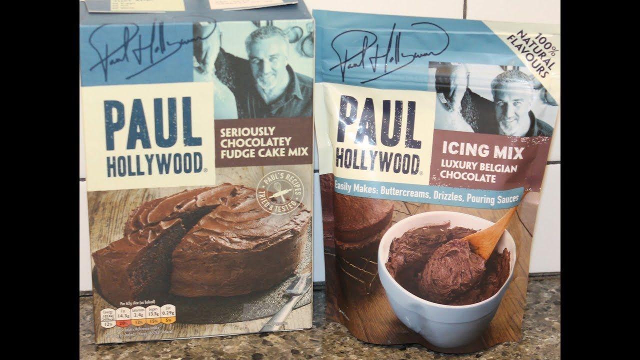 Paul Hollywood: Seriously Chocolatey Fudge Cake Mix & Luxury