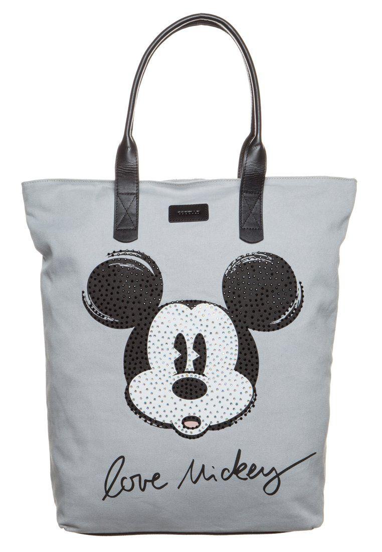 Codello Torba Na Zakupy Light Grey Mickey Mouse Shopper Bag