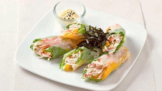 Crab Salad Roll Recipe Philippines