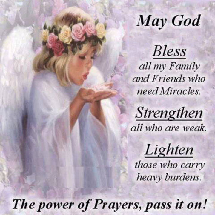 May God bless my family and friends quotes quote friends god
