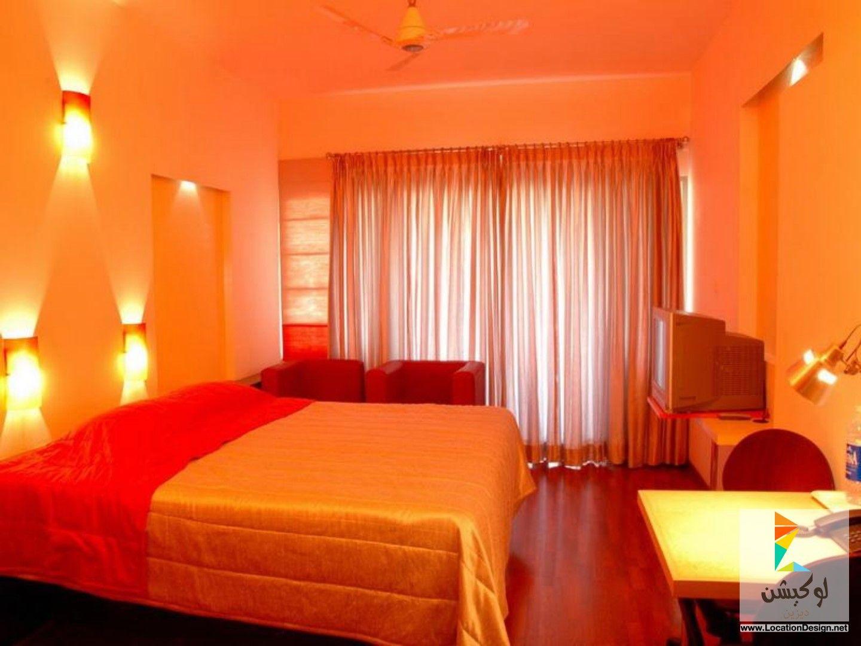 اجمل الوان دهانات غرف نوم 2015 لوكيشن ديزاين تصميمات ديكورات أفكار جديدة مصر Colorful Bedroom Design Monochromatic Room Bedroom Colors