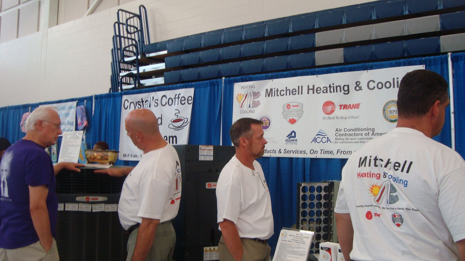 Mitchell Heating Cooling At The Rolesville Chamber Business Expo