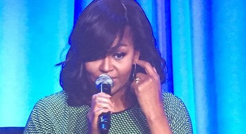 Michelle Obama gives media advice to next 'first spouse' – and tips her hand a bit