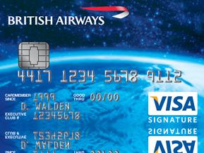 British Airways Visa Signature Card British Airways Travel Credit Cards Travel Rewards Credit Cards British Airways