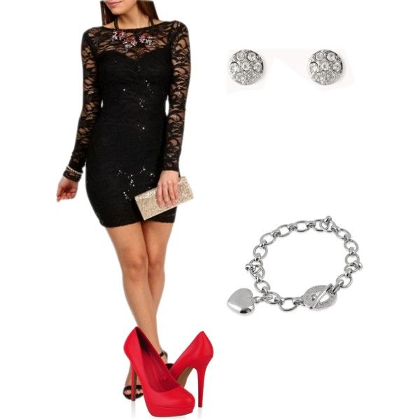 """Little Black Dress"" by ashgoins on Polyvore"