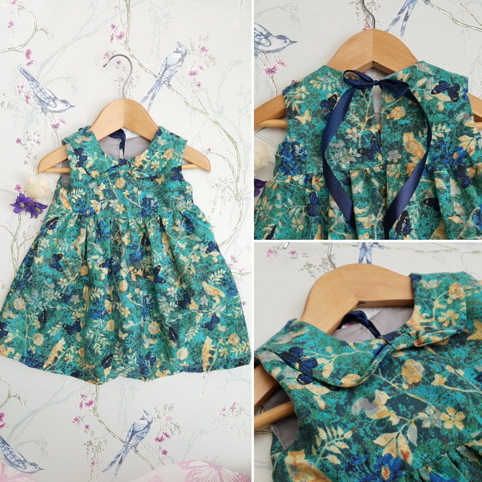 9-12m, 12-18m, Baby Girls Dress, Baby Dress, Toddler Dress, Party ...