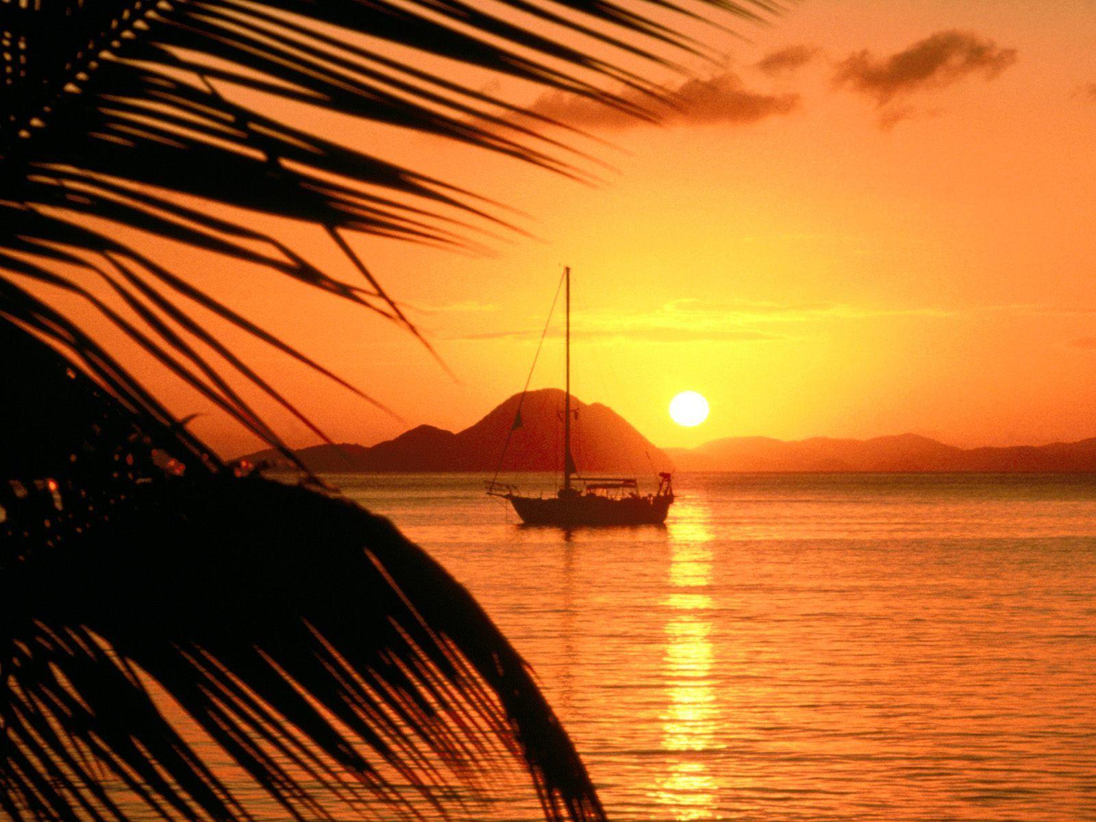 Free Beach Sunset Wallpaper - WallpaperSafari