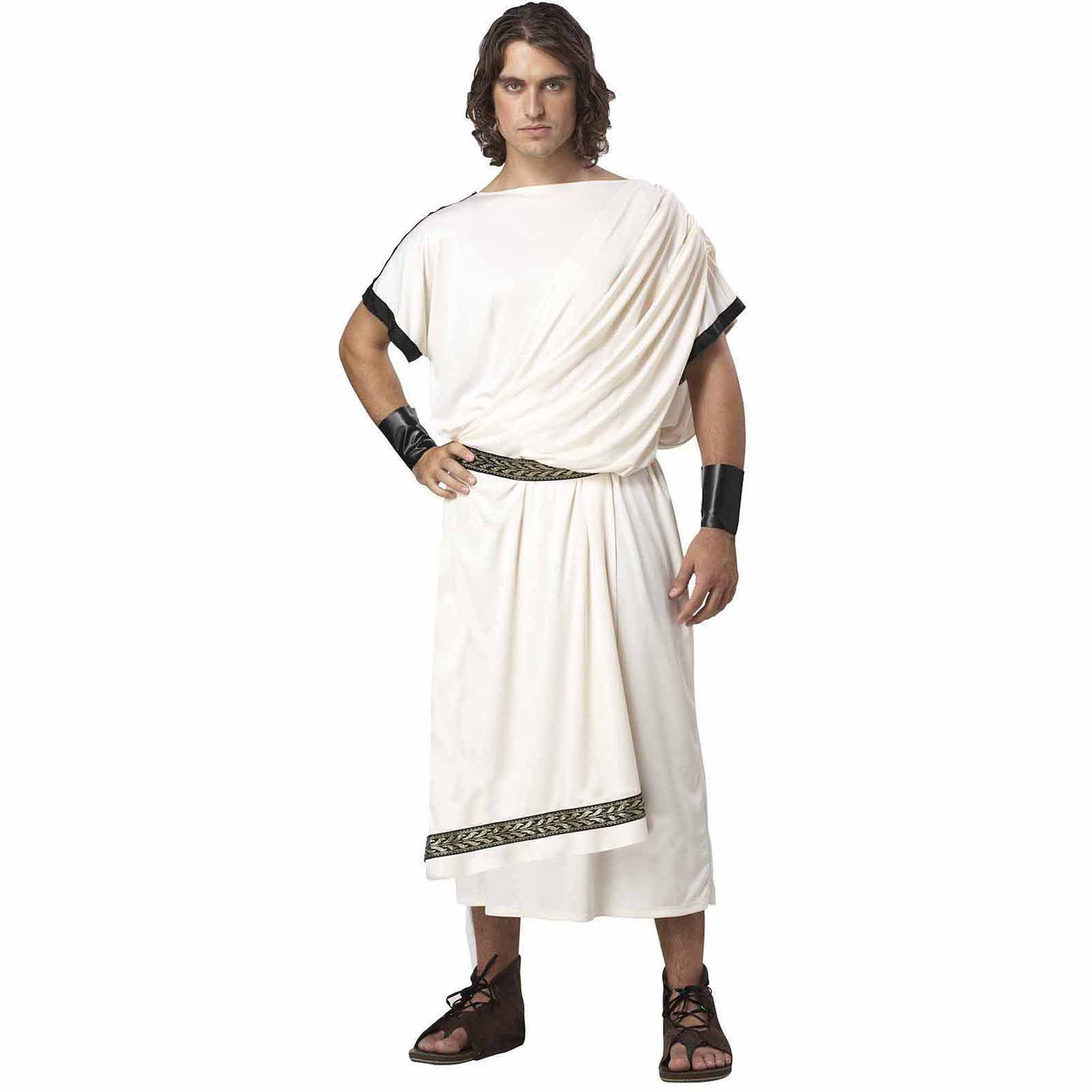 Halloween Costumes College 2020 God Men's Deluxe Classic Toga   Walmart.in 2020 | Roman costume