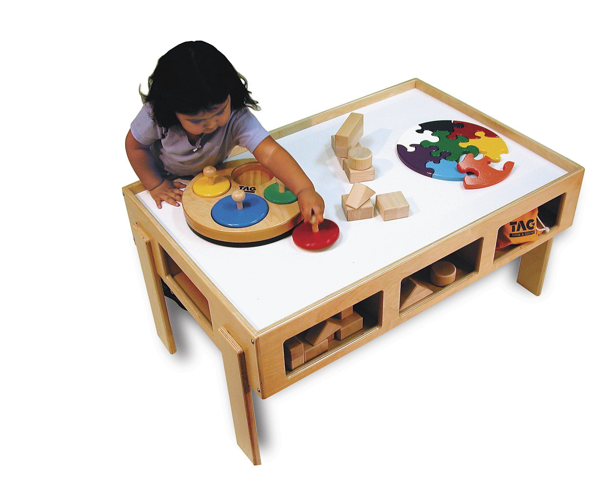 The Toddler Activity Table Is Sturdy, Spacious And American Made! This Play  Table Will Prove To Be A Favorite Play Space For Your Child. Made By TAG  Toys.
