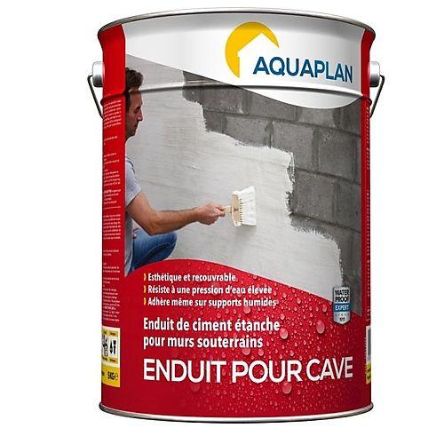 Un Enduit De Ciment Blanc Étanche À L'Eau Pour Imperméabiliser Des