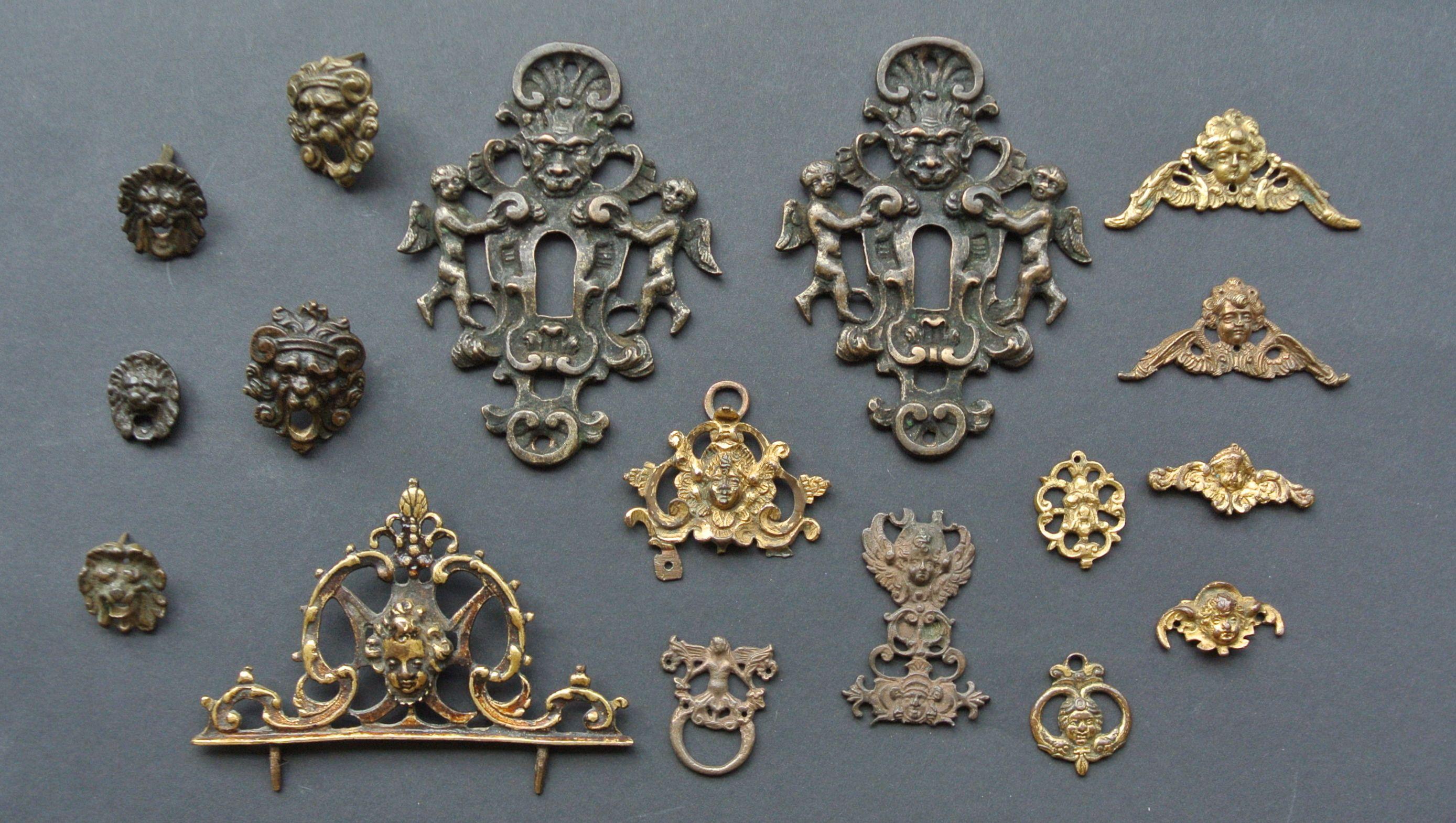 Renaissance Möbel-Rahmen-Beschläge 1550 - 1600 | renaissance ...