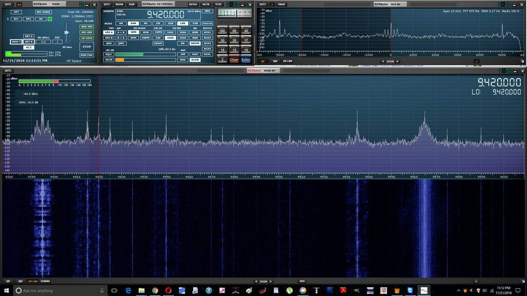 SDRplay releases SDRuno version 1 13 | kc9ldo | Desktop