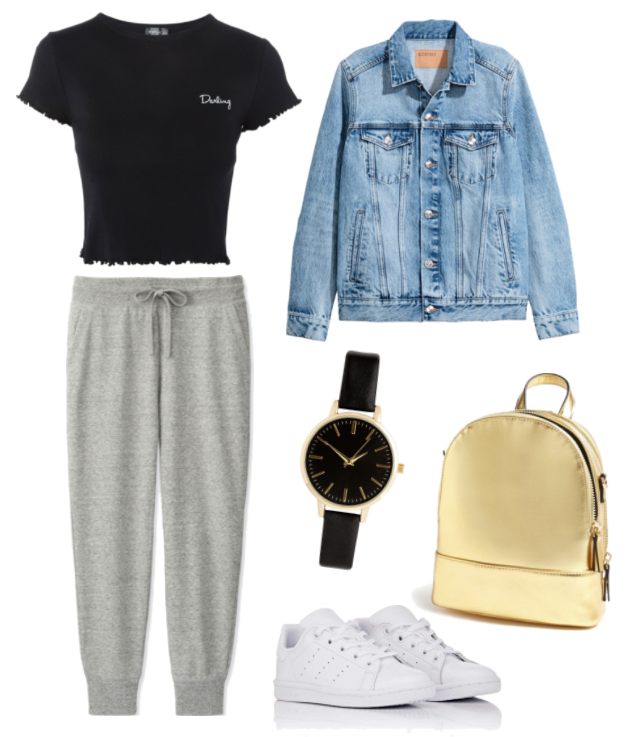 The Perfect Spring Capsule Wardrobe for College #collegeoutfits