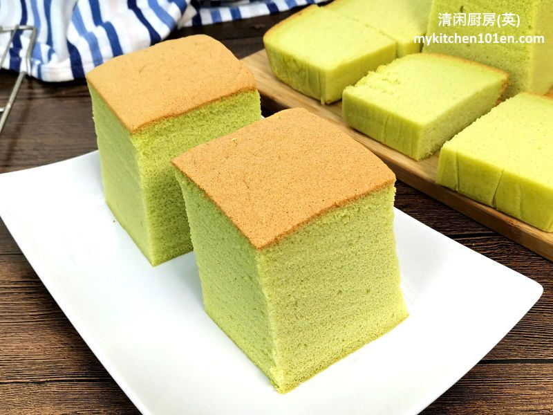 Pandan Cotton Sponge Cake-As soft as cotton