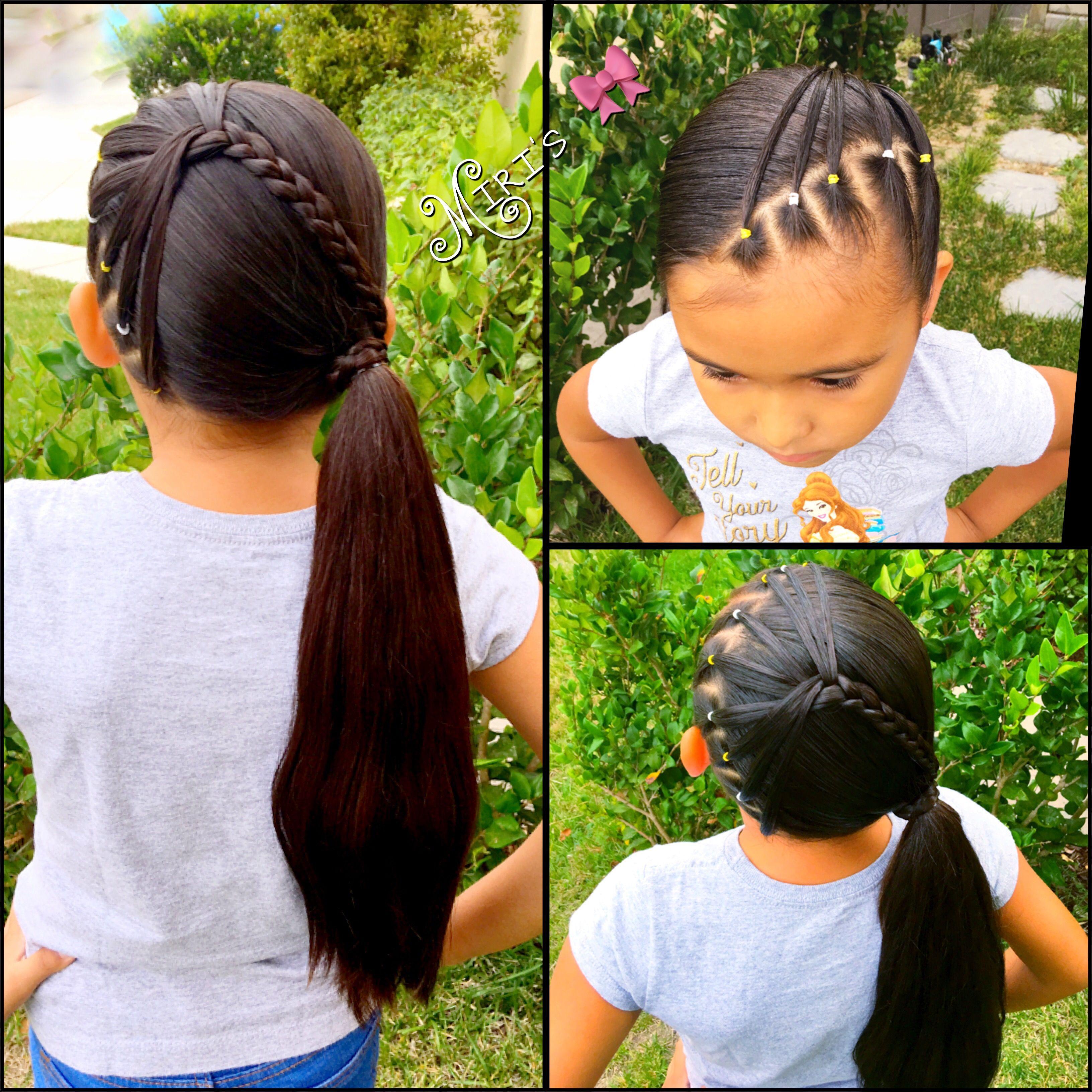 hair style for little girls   hair goalz   hair styles, girl