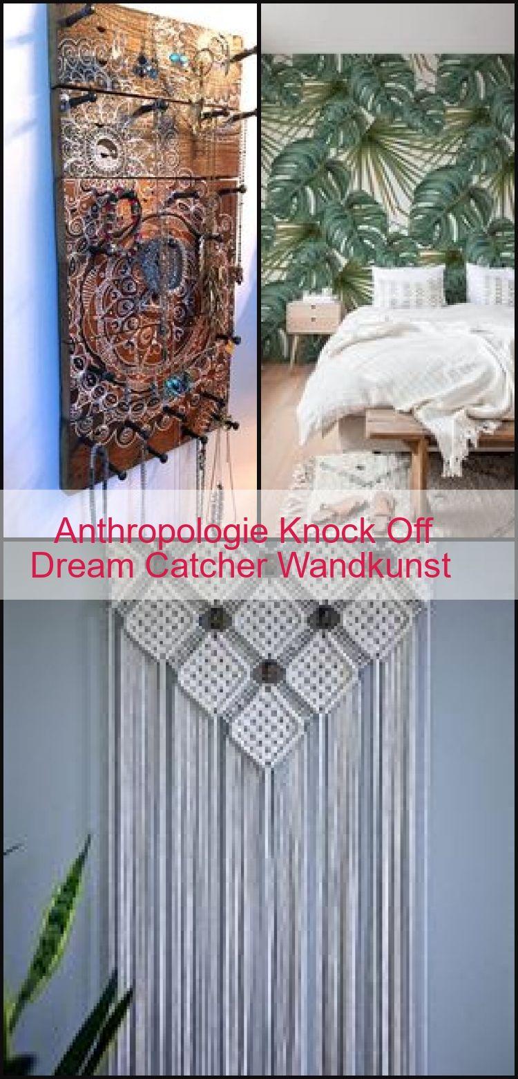 Anthropologie Knock Off Dream Catcher Wandkunst