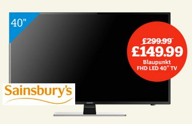 Sainsburys Black Friday Tv Deal 40 For 149 99 You Ll Be Glued To The Box At That Price Friday Tv Black Friday Tv Deals Tv Deals