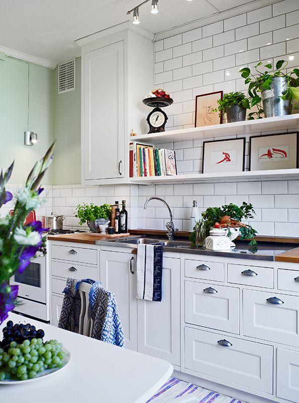 Kök/matplats - Kungsladugård - Majorna  Home  Pinterest  부엌