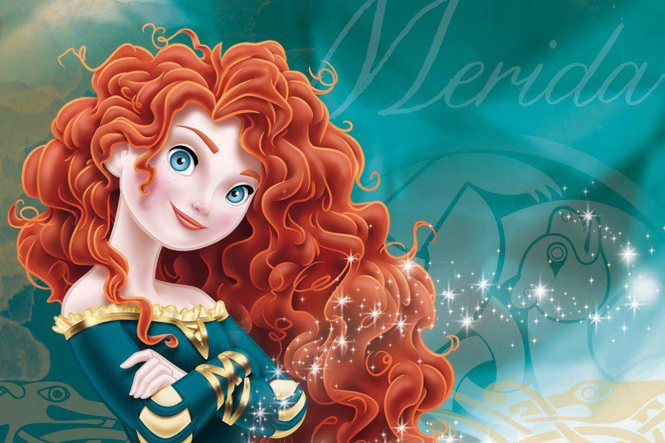 Мерида принцесса диснея картинки