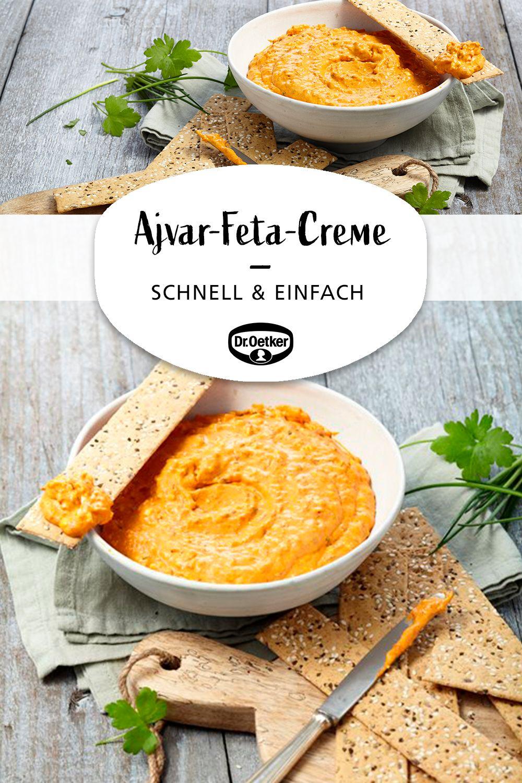 Ajvar-Feta-Creme
