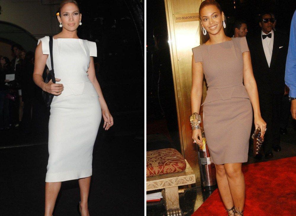Jennifer lopez cocktail dresses copy