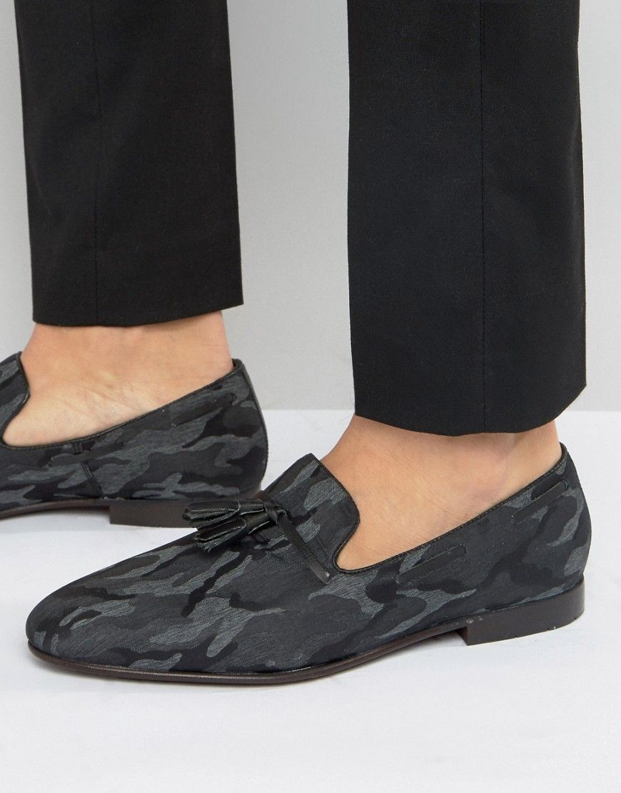 Kg By Kurt Geiger Patent Smart Loafers - Black Kurt Geiger XiRXyaoFjE