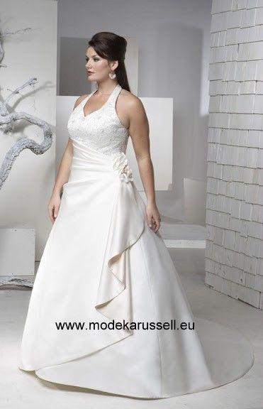 Neckholder Brautkleid/Hochzeitskleid Lang | Weddings | Pinterest ...