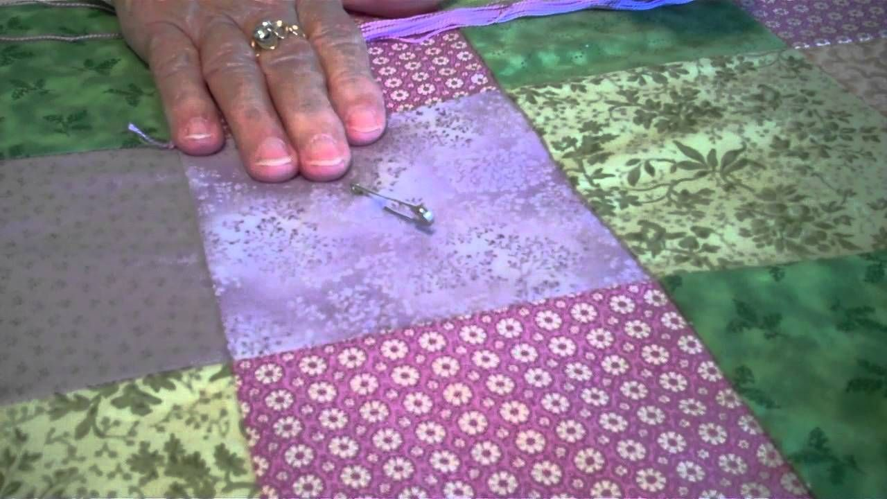 How to Tie a Quilt YouTube Quilting tips, Quilts