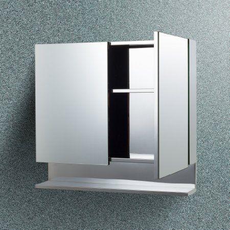 CiplaPlast Double Door Stainless Steel Bathroom Cabinet: Amazon.in: Home & Kitchen