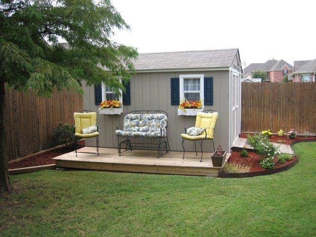 Many Storage Sheds Are Built In Backyards, But Never Integrated Into The  Yard Itself. By That I Meanu0026nbsp;most Storage Sheds Tend To Look Like An ...