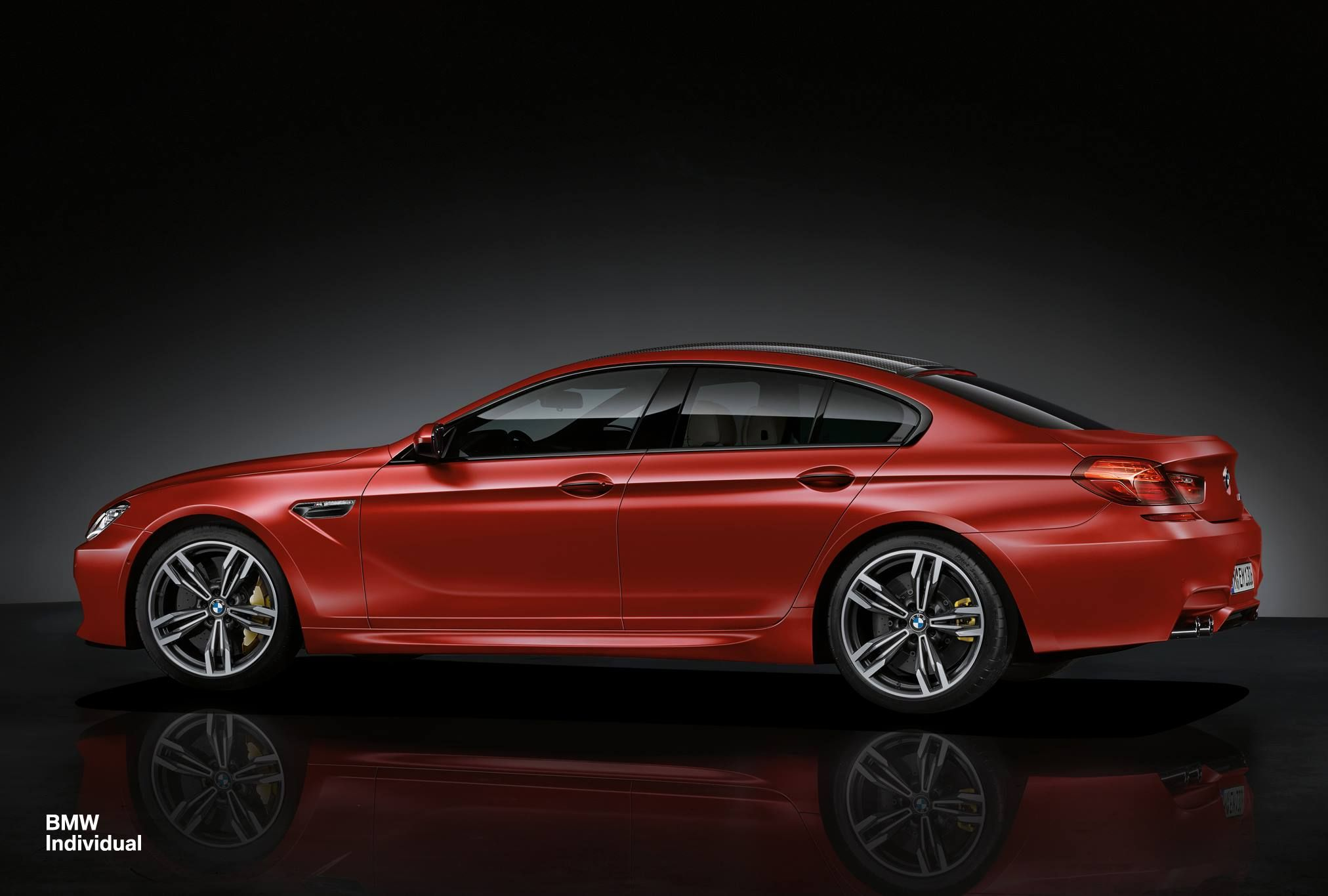 Bmw Individual Bmw 6 Series Gran Coupe In Frozen Red Bmw M6