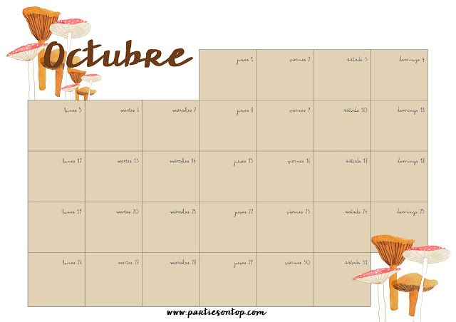 Calendario de Octubre https://t.co/mFGvVDh6ej https://t.co/kW02txRn9R #WeddingTips #Cancun #WeddingsCancun
