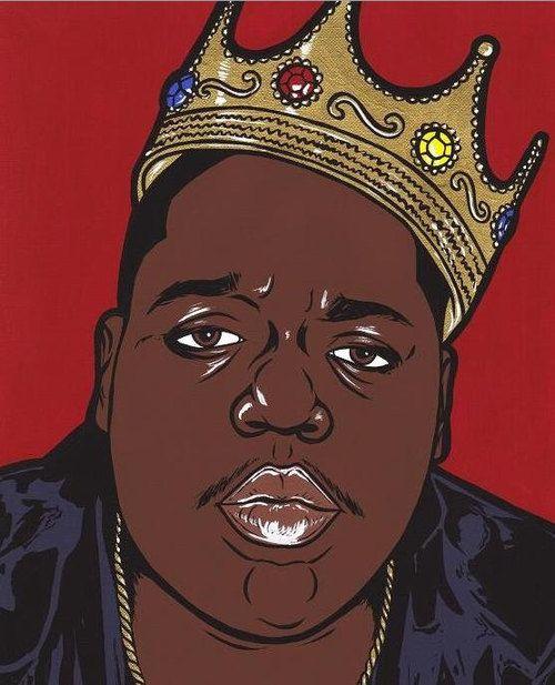 Pop Art On Tumblr Biggie Smalls Art Rapper Art Hip Hop Artwork