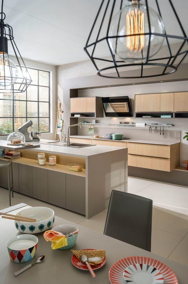 Cuisine ouverte  15 modèles de cuisiniste Kitchens - modele de cuisine americaine