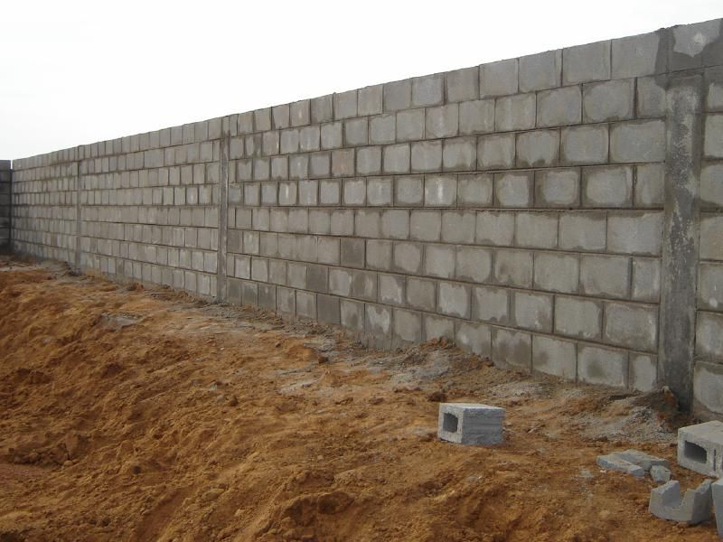 Building With Block Construction Concrete Blocks Retaining Wall Design Concrete Block Retaining Wall