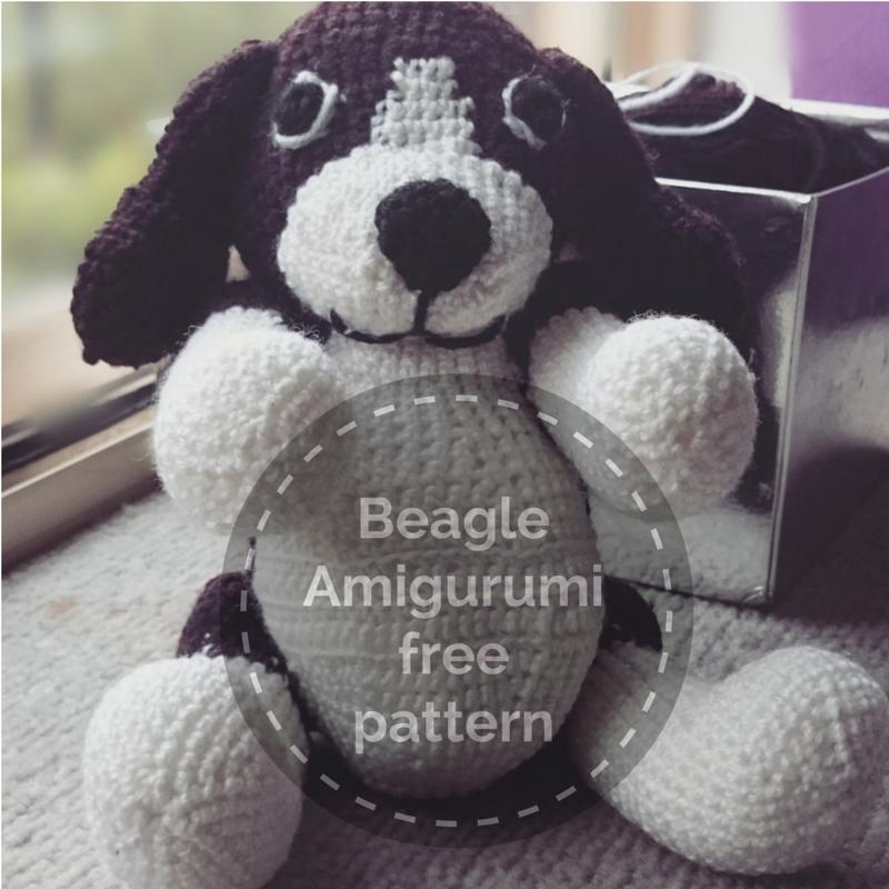 Beagle / Dog Amigurumi (Crochet free pattern) | crochet and knitting ...