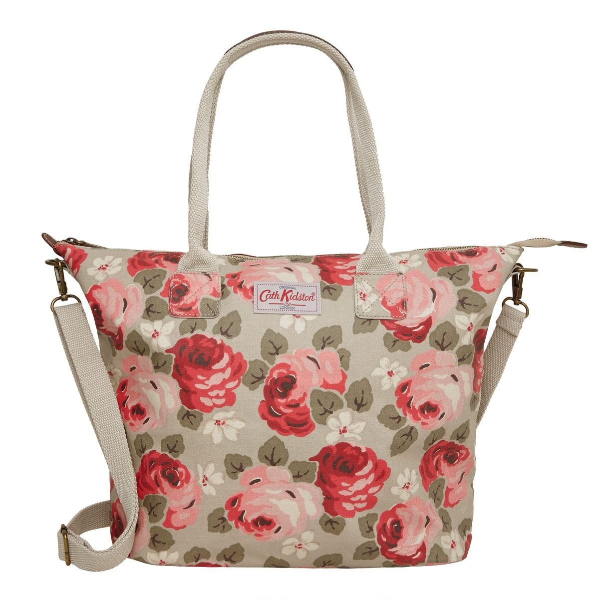 View All Aubrey Rose Tall Zipped Tote