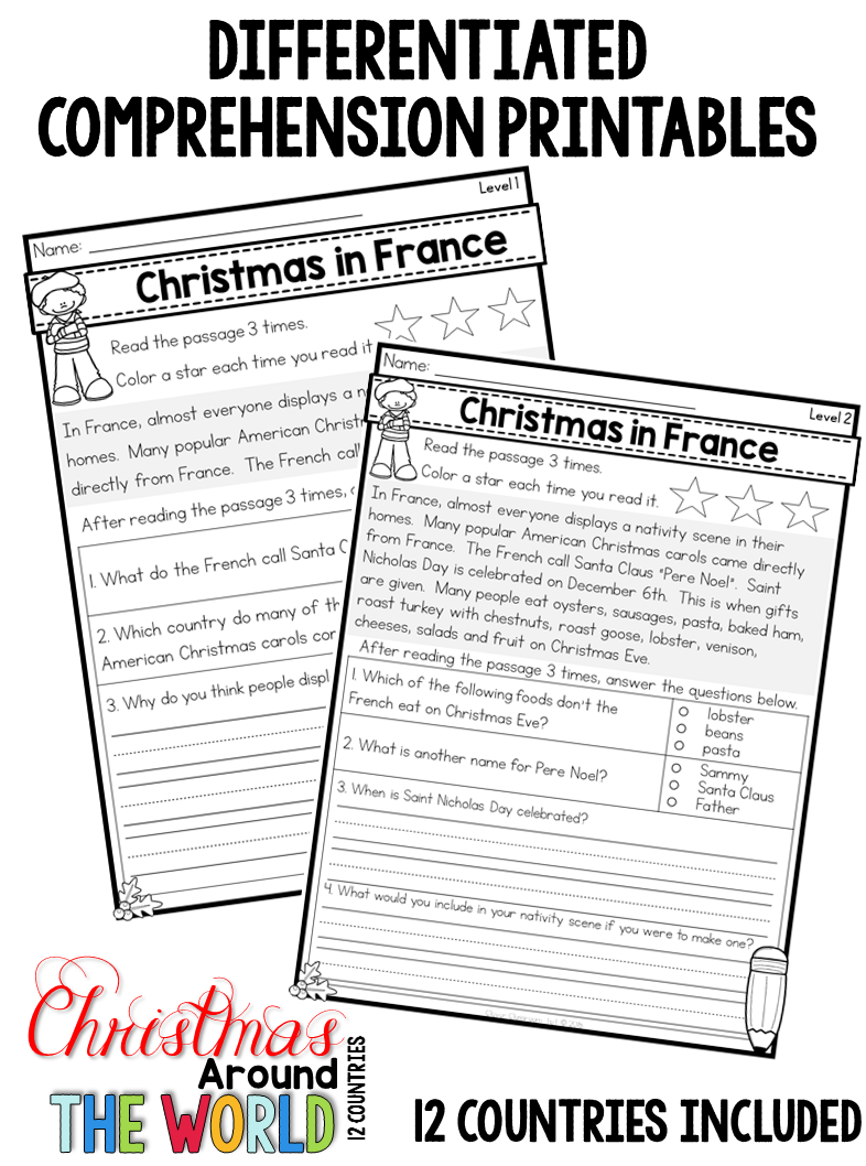 Christmas Around The World Differentiated Passages