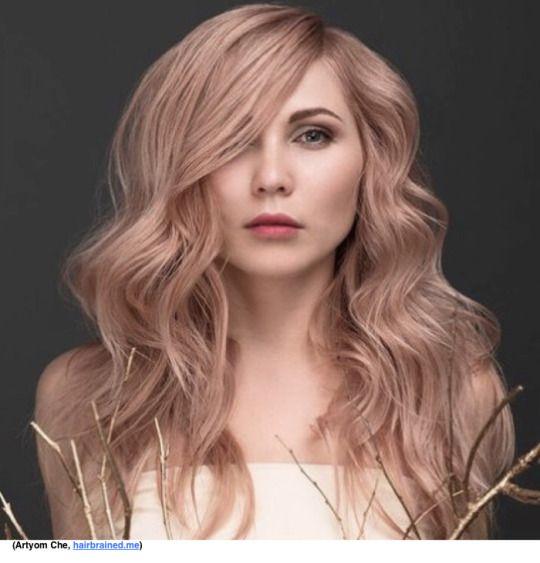 Rose Gold Hair Using Wella Illumina Greathairbykrystina