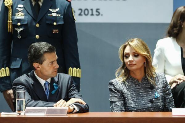Reaparece Angélica Rivera en actos públicos - Yahoo Noticias